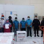 Brimob Lampung Pastikan Keamanan Jalannya Pendistribusian Vaksin Covid -19 Di Provinsi Lampung