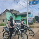 Antisipasi Gangguan Kamtibmas, Sat Sabhara Polres Lampura Gelar Patroli Bermotor