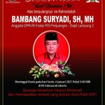Selamat Jalan, Politisi Tersohor Kandidat Doktor, Bambang Suryadi