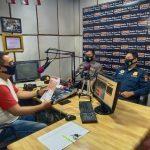 Sosialisasi Penerimaan Polri SIPSS 2021, Polres Lampura Talk Show di Radio Wijaya