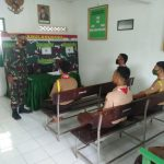 Anggota Koramil 421-10 Katibung Bina Pramuka Saka Wira Kartika