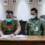 Pemkab Lamsel Lakukan Kerja Sama (MoU) Dengan Bank Lampung Tentang Pengelolaan Keuangan Daerah