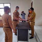 Camat Kotabumi Iwan Sagitariza, S.IP., M.M. Hadiri Kegiatan Sertijab Lurah Sribasuki Kab. Lampura