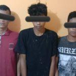 Usai Maling Kabel Milik PLN, Tiga Pemuda Asal Jati Agung Di Tangkap Polisi