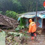 Hujan Intensitas Tinggi Disertai Longsoran Menyebabkan Banjir Bandang di Kabupaten Bogor