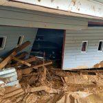 Banjir Bandang Hanyutkan Tiga Rumah Warga Paniai