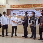 KPU Pesawaran Terapkan Pasangan Dendi-Marzuki Sebagai Pemenang Pilkada 2020