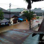 Warga Manado Delapan Kecamatan Dilanda Banjir