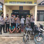 Tim Opsnal Polsek Kotabumi Utara Berhasil Ciduk Dua pelaku pencuri sepeda motor