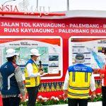 Resmikan Ruas Tol di Sumsel, Presiden: Bakauheni ke Palembang Kini Hanya 3,5 Jam Perjalanan