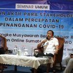 Gubernur Sumut Apresiasi Seminar IWO Terkait Penanganan Covid-19