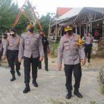 Kabid Humas Polda Lampung, Lakukan Monitoring ke Wilayah Hukum Polres Lamsel