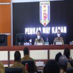 Pemkab Way Kanan,Gelar Rakoor SKPD