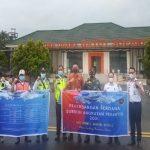 Penerbangan Perdana Angkutan Perintis Bandara Gatsu Way Tuba - Raden Intan ll Lampung