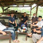 DPC Hipmikindo Lampura Bersama Kadis Disporapar komitmen Majukan Ekonomi Kreatif Dan Pariwisata.