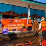 Rumah Zakat Action Salurkan Logistik Kepada Penyintas Banjir di Banjarmasin