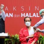 Masyarakat Mengapresiasi Vaksinasi Tahap Kedua Presiden Jokowi