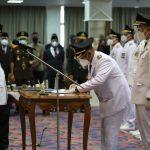 Gubernur Lantik Nanang - Pandu Sebagai Bupati Dan Wakil Bupati Lamsel