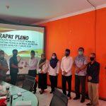 KPU Lampura Gelar Rapat Pleno PDPB Periode Januari 2021