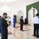 Presiden Jokowi dan PM Muhyiddin Yassin Tunaikan Salat Jum'at di Masjid Baiturrahim