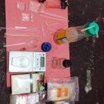Polsek Kalianda Kemabli Mengamankan Penyalah Guna Narkoba