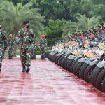 Panglima TNI Pimpin Apel Gelar Kesiapan Tenaga Vaksinator danTracerCovid-19
