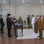 Pejabat Administrator & Pengawas Pemkab Pringsewu Dilantik