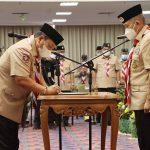 Sekjen Kwarnas Pramuka Lantik Ketua Kwarda Lampung