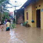 Sejumlah Pemukiman Warga Lampura Terendam Banjir
