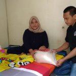 IWO Sulbar Salurkan Bantuan ke Bocah Penderita Hidrosifalus di Mamuju