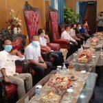 Pemkab Lampura Bersama DPC Hipmikindo Terima kunjungan Team BAGIMU NEGERI
