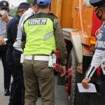 Pengawasan Di Jalan Raya Serdang, Dinas Perhubungan Dapati 9 Kendaraan Overdimention