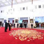 Presiden Saksikan Pengucapan Sumpah Wakil Ketua MA Bidang Yudisial