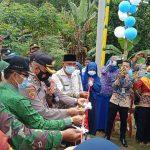 Polres Lampura Resmikan Kampung Tangguh Nusantara di Desa Tulung Singkip