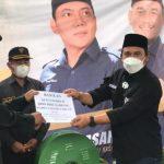 Ketua DPD Nasdem Beri Bantuan Mesin, Potong Rumput Di Katibung