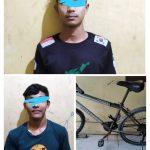 Jual Hasil Curian Di Medsos, Dua Pemuda ini Di Tangkap Polisi