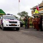 Polres Pringsewu Kawal ketat kegiatan Pendistribusian Logistik Pilkakon Serentak