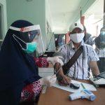 Ketua IWO Tegal Hartadi Setiawan di Vaksin Covid-19