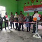 Polres Pringsewu Resmikan KTN, Tingkat Kecamatan Di Pekon Tanjung Dalam