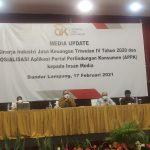 Tahun 2021, OJK Lampung Optimis Industri Jasa Keuangan Membaik