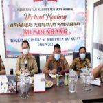 PLH Bupati Way Kanan Pimpin Musrenbang Di Dua Kecamatan