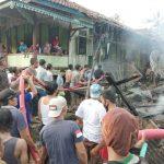 Diduga Korsleting Listrik, Rumah Warga di Pesawaran Ludes Terbakar