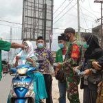 PAC GP Ansor Tanjung Bintang Bagi Bagi Masker Gratis