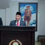 Dihadapan DPRD, Nanang-Pandu Sampaikan Visi Misi Sebagai Bupati dan Wakil Bupati Lampung Selatan