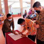 Sertijab Camat Pringsewu Berlangsung khidmat