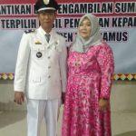 Selesai Dilantik, Saibun Iskandar Kepala Pekon Way Harong Harapan Masyarakat