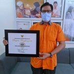 Rumah Zakat Raih Penghargaan Penanggulangan Bencana dari BNPB
