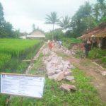 Bersama Masyarakat, Pekon Tanjung Anom Bangun Drainase Menggunakan DD