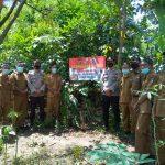 Desa Pulau Panggung Kecamatan Abung tinggi resmikan Kampung Tangguh Nusantara