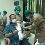 Ketua DPRD, Pejabat Eselon II dan Kabag Pemkab Lampung Selatan Jalani Vaksinasi Dosis Kedua